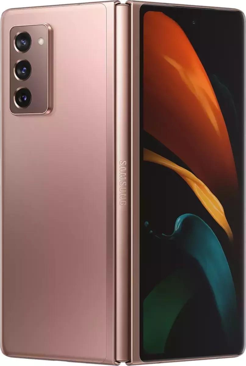 Samsung Galaxy Z Fold2  5G 256GB (12GB Ram) Single-Sim +eSim Mystic Bronze EU (F916 F)