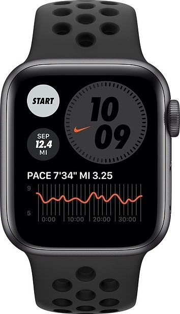 Apple Watch Series 6 Nike 44mm (Black) (MG173BS/A)
