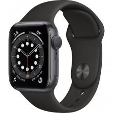 Apple Watch Series 6 Aluminium 40mm (Space Gray) (MG133VR/A)