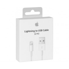 Apple USB to Lightning Cable White 2m MD819
