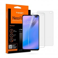 Spigen® (x2Pack) Neo Flex™ HD 606FL25695 s10 plus